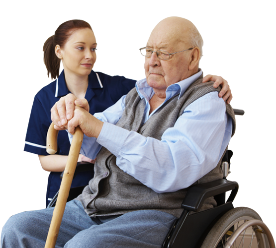 Servicii de îngrijire și asistență socială, la domiciliu, persoanelor vârstnice aflate în incapacitatea de a se îngriji singure.